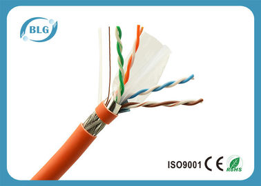 China 23AWG bulto completo sólido del cable del cobre Cat6, cable de Ethernet del gato 6 de la comunicación de la red distribuidor