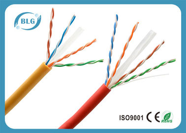 China U / Cable de Ethernet de la categoría 6 de la prenda impermeable de UTP, cable largo estupendo de la red del gato 6 distribuidor