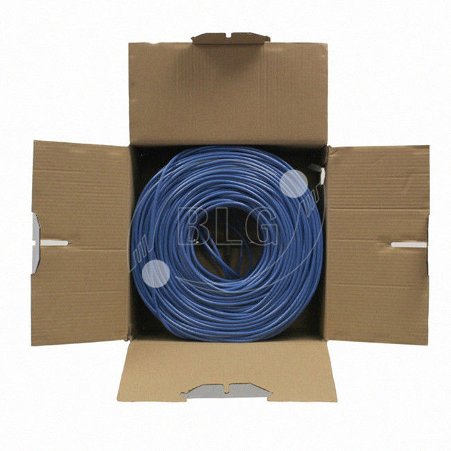 Cable de red Ethernet de 1000FT Unshield Ethernet Cat5e CU CCA 4 pares de cable de red Ethernet, tipo de interior